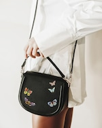 Alepel Butterflies Vegan Leather Bag 1