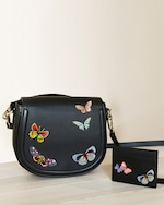 Alepel Butterflies Vegan Leather Bag 2