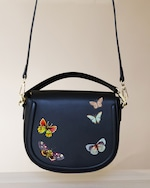 Alepel Butterflies Vegan Leather Bag 0