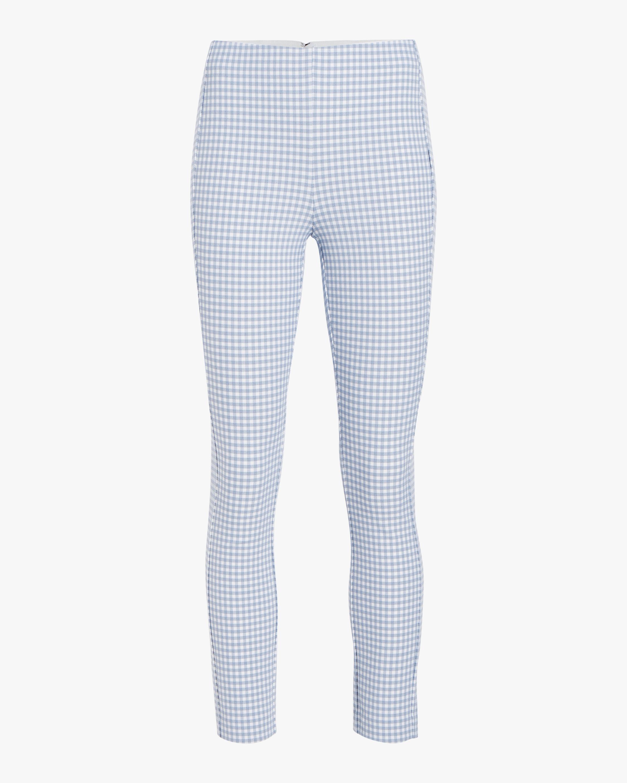 rag & bone Simone Gingham Pants 1