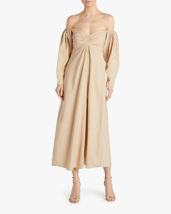 Calley Off-Shoulder Dress