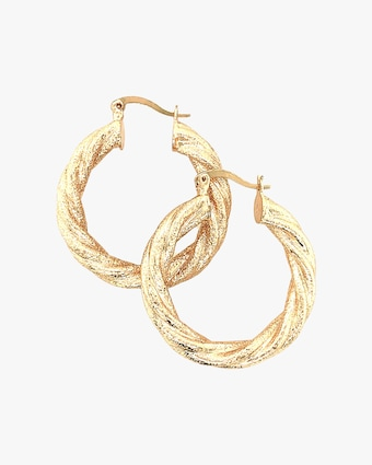 Jordan Road Jewelry Bardot Hoop Earrings 1