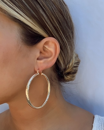 Jordan Road Jewelry Pretty Woman Hoop Earrings 2