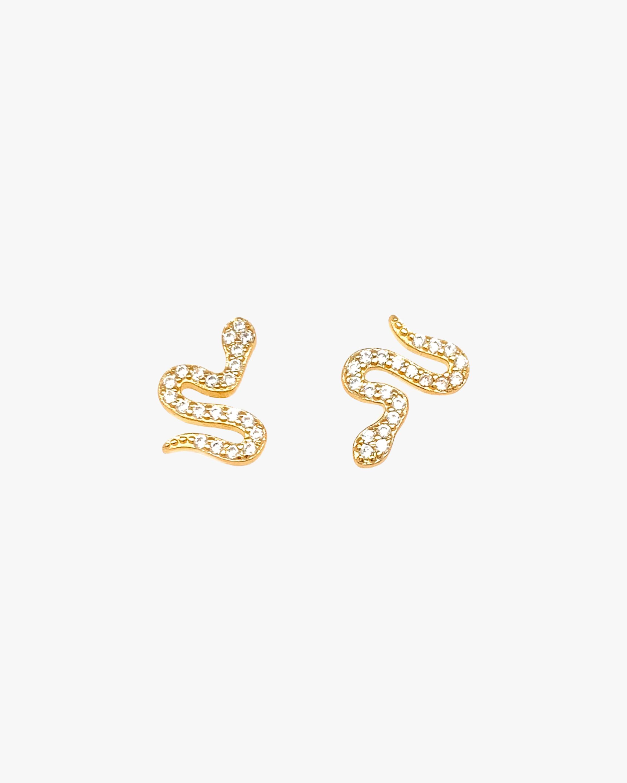 Jordan Road Jewelry Serpent Stud Earrings 1