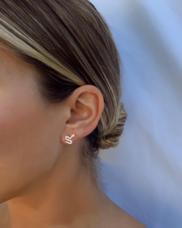 Jordan Road Jewelry Serpent Stud Earrings 2