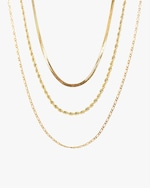 Jordan Road Jewelry Exclusive Triple-Chain Stacked Necklace Set 0