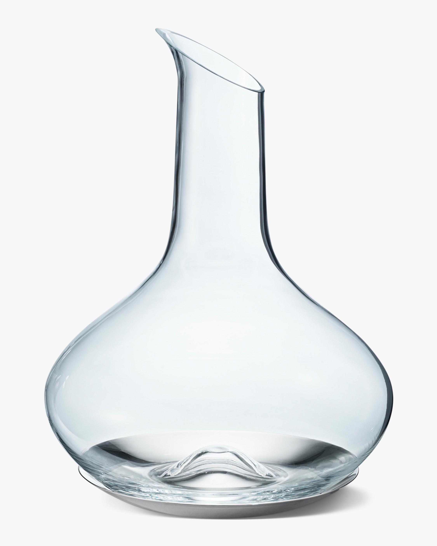 Georg Jensen Sky Wine Carafe & Coaster 0