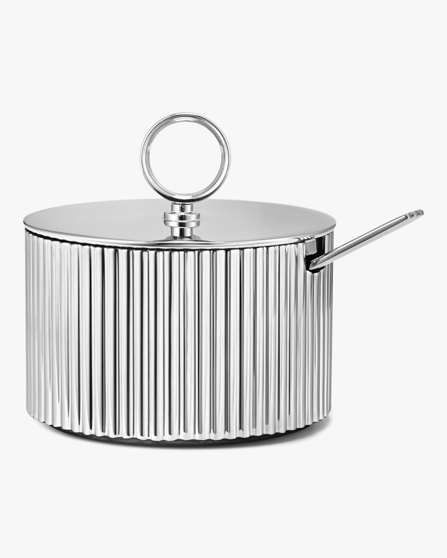 Georg Jensen Bernadotte Sugar Bowl & Spoon 0