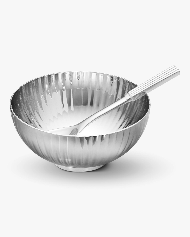 Georg Jensen Bernadotte Salt Cellar & Spoon 0