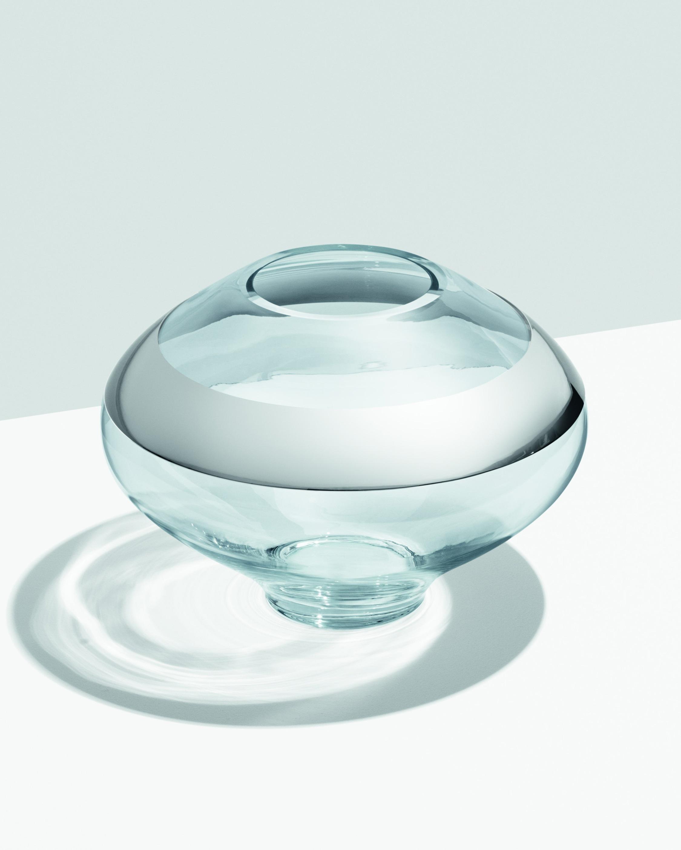Georg Jensen Duo Round Vase - 10in 2
