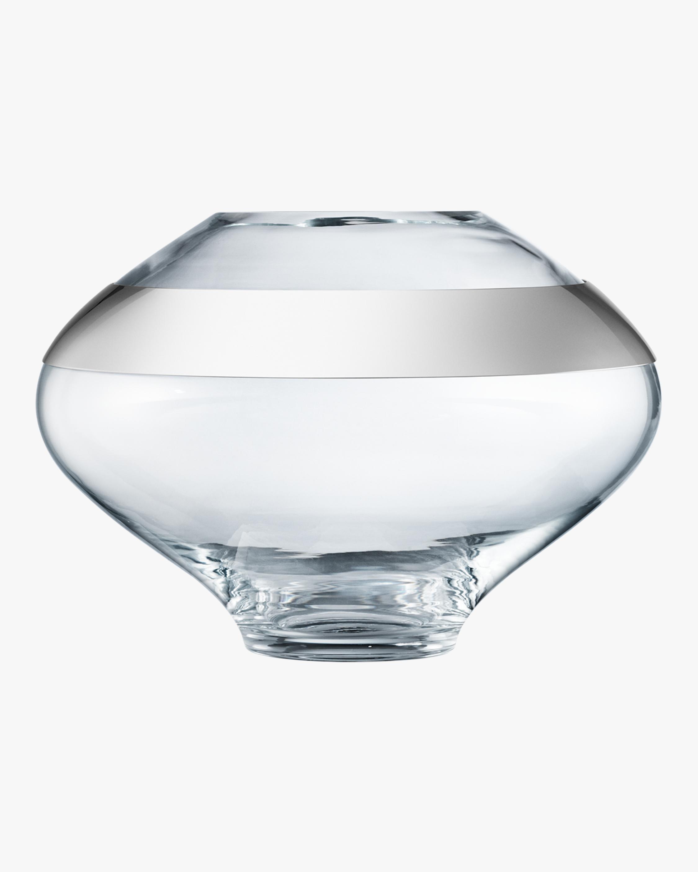 Georg Jensen Duo Round Vase - 7in 0