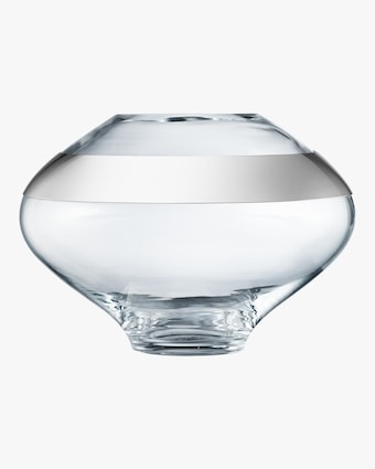 Georg Jensen Duo Round Vase - 7in 1