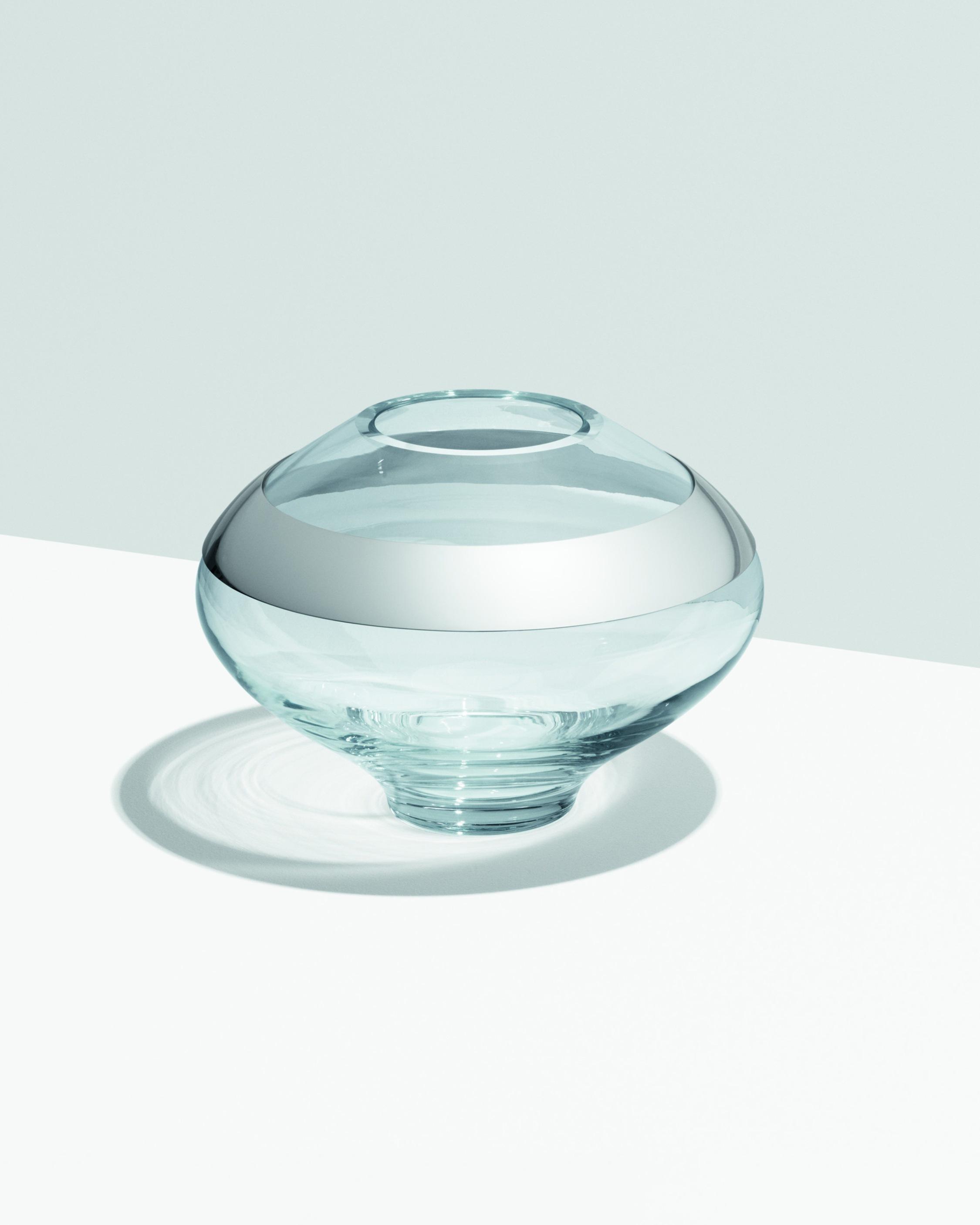 Georg Jensen Duo Round Vase - 7in 2
