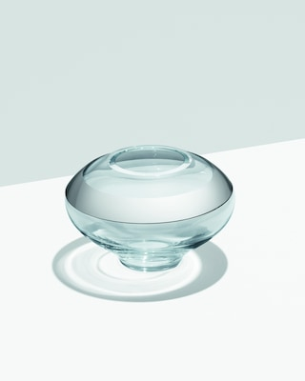 Georg Jensen Duo Round Vase - 4in 2
