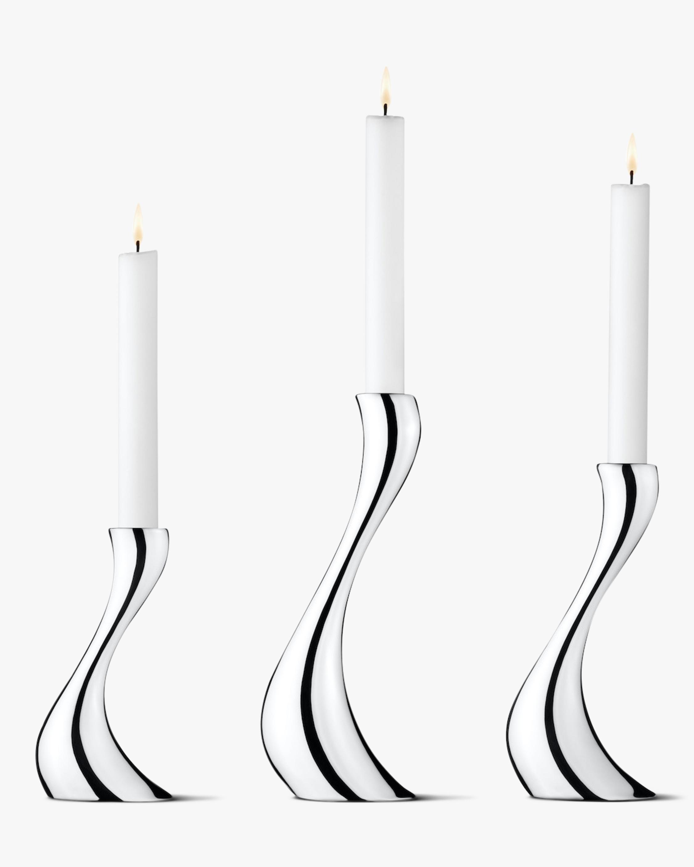 Cobra Candleholder Trio