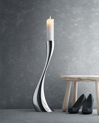 Cobra Medium Floor Candleholder