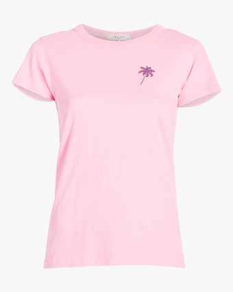 Two-Tone Palm Tree Tee
