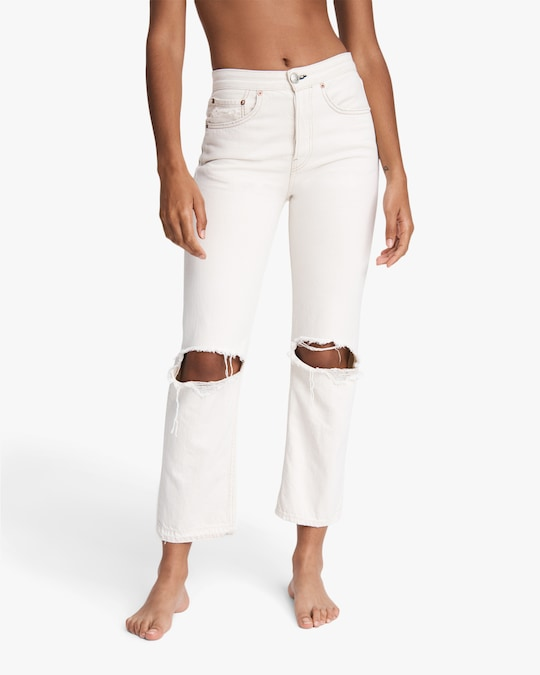 rag & bone Maya High-Rise Ankle Straight Jeans 1