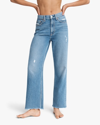 Ruth Super High-Rise Straight Jeans
