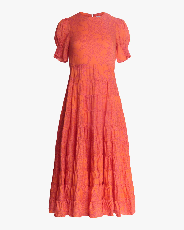 Diane von Furstenberg Zadie Midi Dress 0