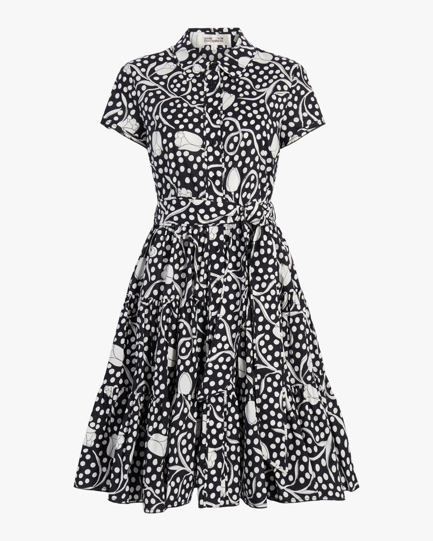 Diane von Furstenberg Zaria Midi Dress 0
