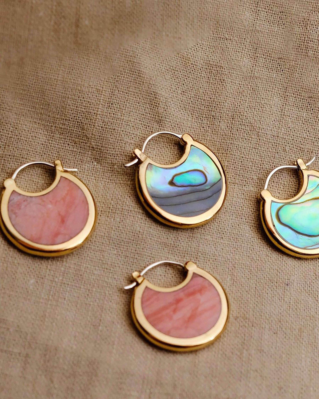 Pamela Love Mojave Hoop Earrings 1
