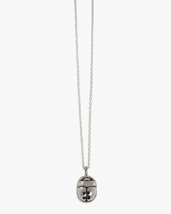Pamela Love Mini Scarab Pendant Necklace 1
