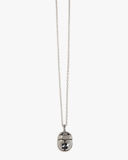 Pamela Love Mini Scarab Pendant Necklace 0