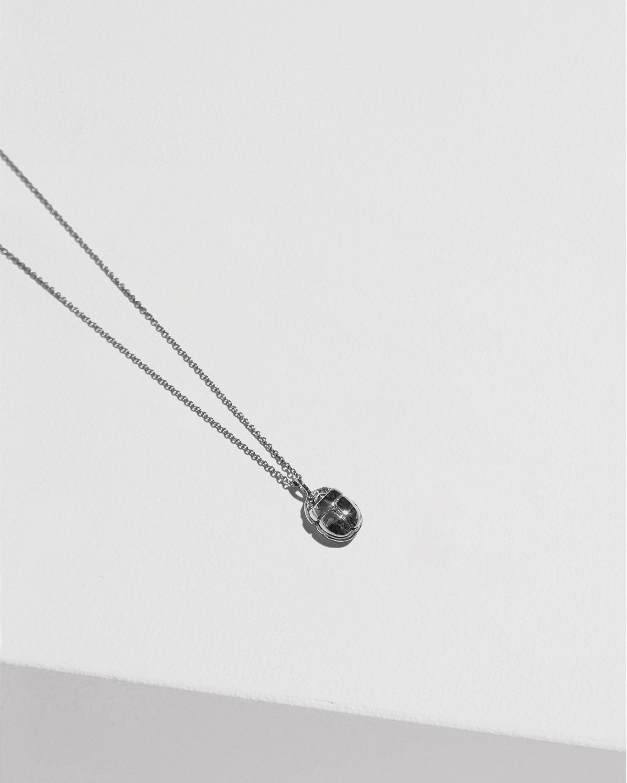 Pamela Love Mini Scarab Pendant Necklace 1