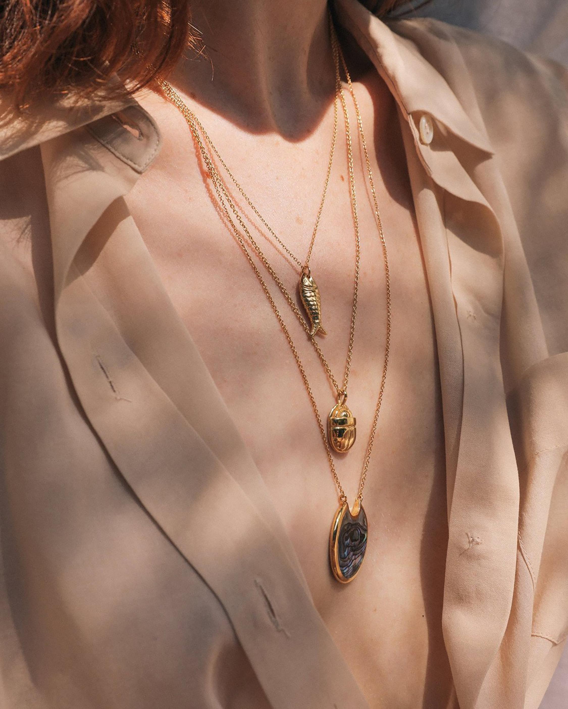 Pamela Love Aegean Pendant Necklace 1