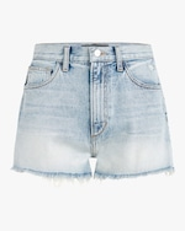Joe's Jeans High-Rise Vintage Denim Shorts 0