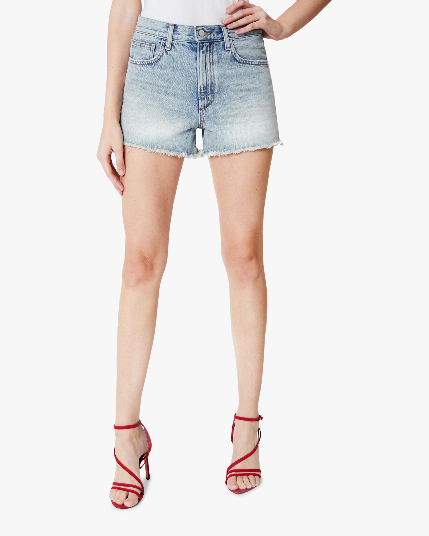 Joe's Jeans High-Rise Vintage Denim Shorts 1