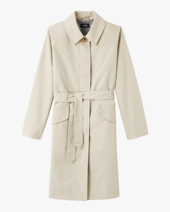 A.P.C. Mac Lucienne Trench Coat 1