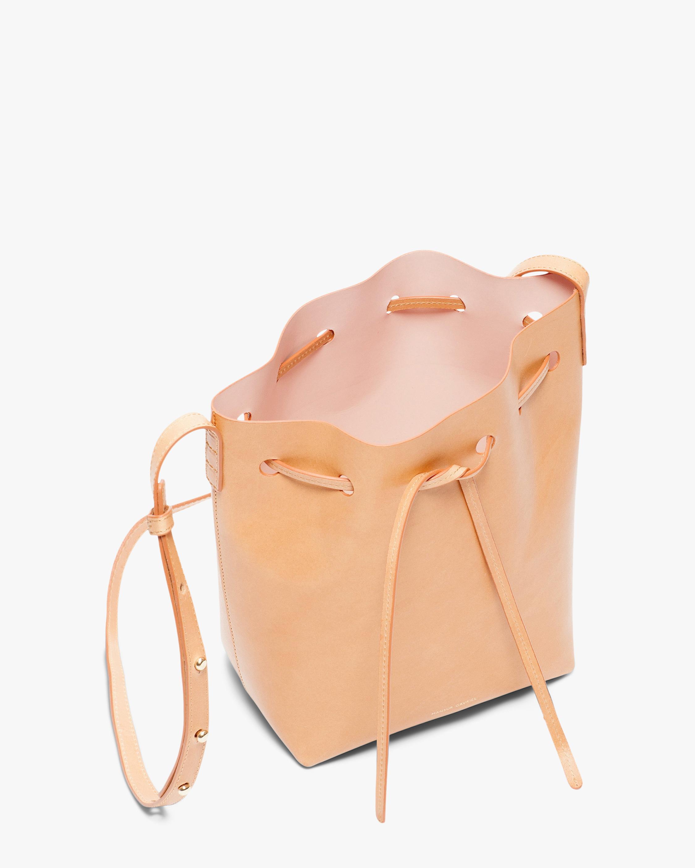 Mansur Gavriel Cammello Mini Leather Bucket Bag 1
