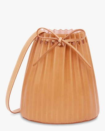 Cammello Pleated Bucket Bag