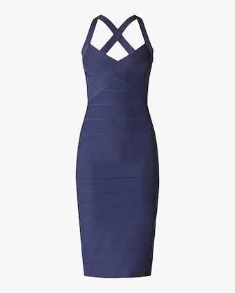 X Back Woven-Front Icon Dress