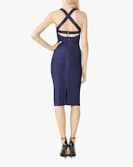 Herve Leger X Back Woven-Front Icon Dress 3