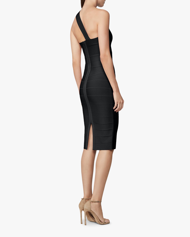 Asymmetrical One-Shoulder Dress