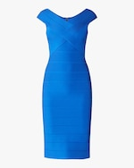 Herve Leger Crisscross Icon Dress 0