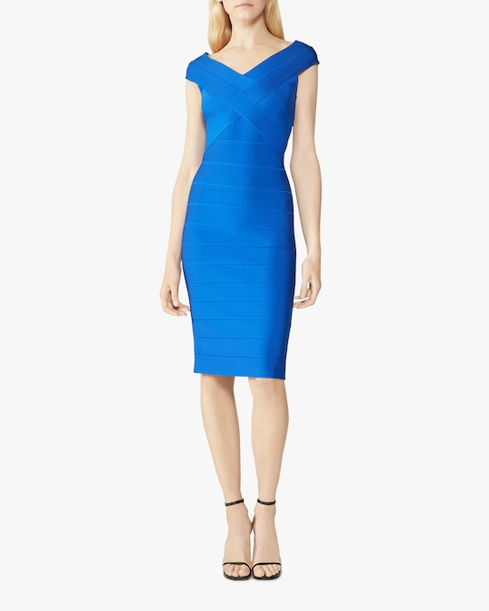 Herve Leger Crisscross Icon Dress 1