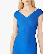 Herve Leger Crisscross Icon Dress 4