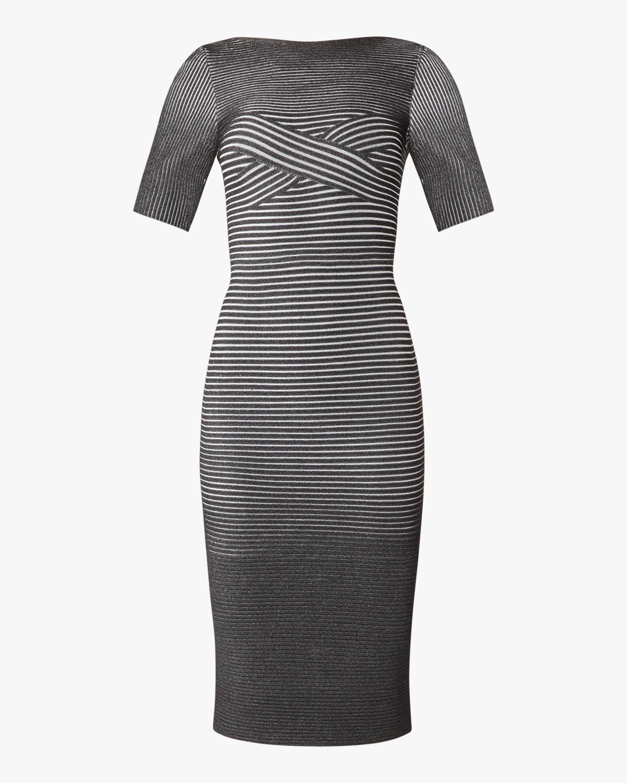 Herve Leger Braided Bustier Dress 0