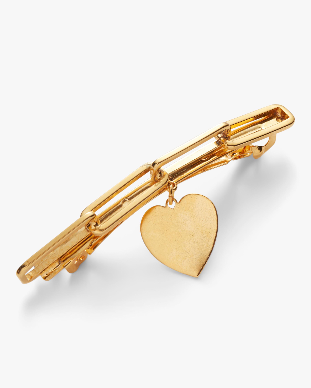 Lelet NY Chain-Link Heart Barrette 1
