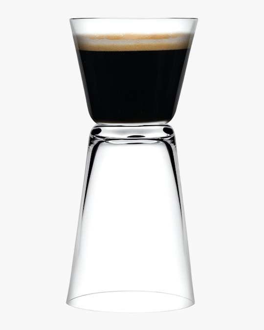 Nude Glass Dual Espresso Glasses Set of 2 0