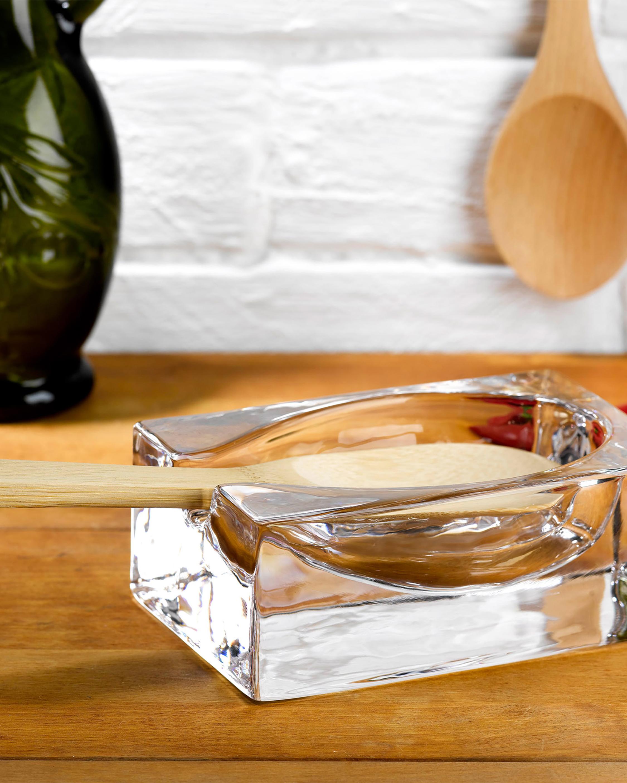 Nude Glass Cruet Spoon Rest 1