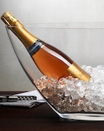 Nude Glass Ice Bath Champagne Cooler -XL 1