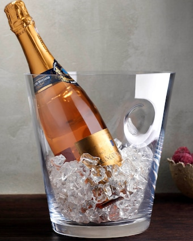 Nude Glass Glacier Champagne Cooler 2
