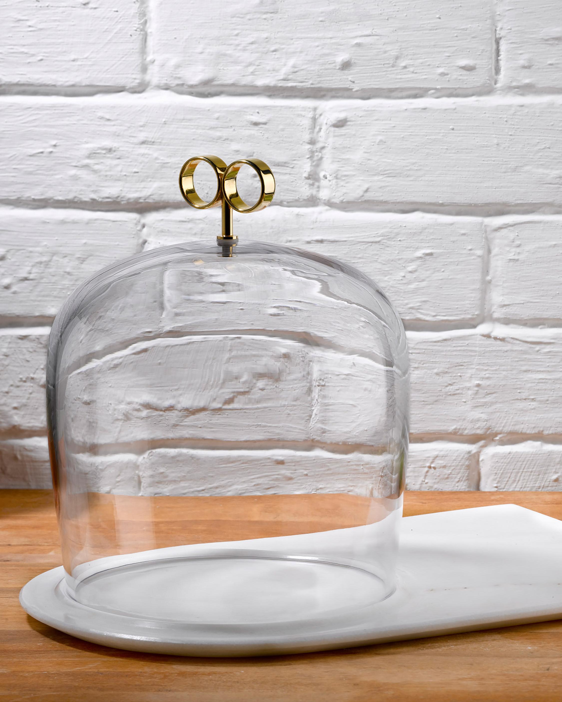 Nude Glass Cupola Cake Dome 1