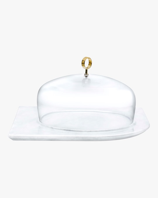 Nude Glass Cupola Large Cake Dome 0