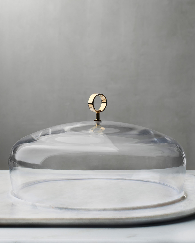 Nude Glass Cupola Meidum Cake Dome 1